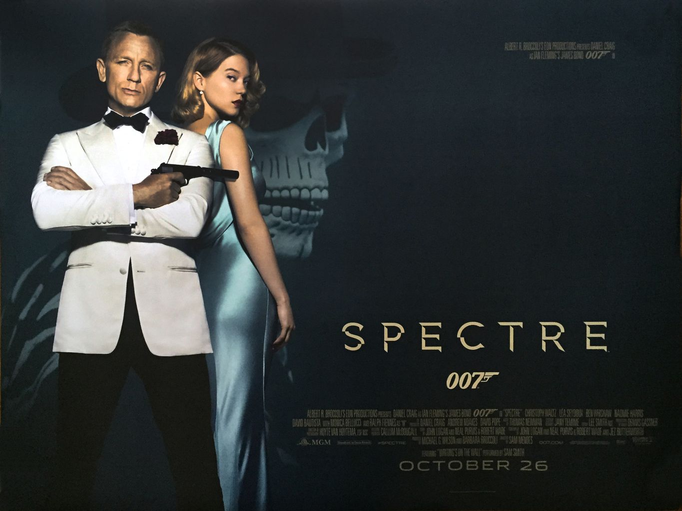 Spectre Movie Overview